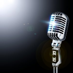 HOMEPAGE. microphone