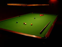 WHAT WE HAVE TO OFFER. snooker table